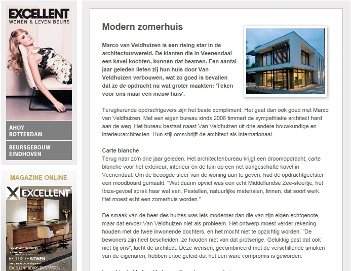 Voorwoord Excellent over architect & Holleman Parket vloeren